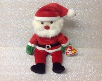 Santa Beanie Baby