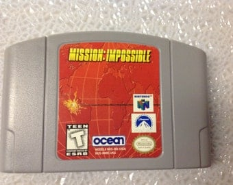 Nintendo 64 Mission:Impossible Game Cartridge-Used