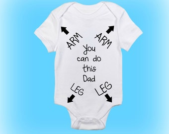 Elegant Gift For New Daddy Funny Baby Onesie® New Daddy Gift Baby Gift