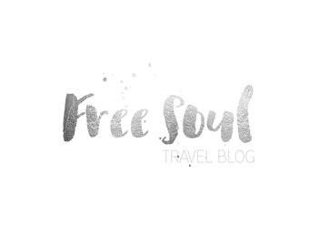 Blog logo, premade blog logo, silver foil logo, premade logo, silver logo, branding logo, fashion logo, blogger logo, boutique logo, modern
