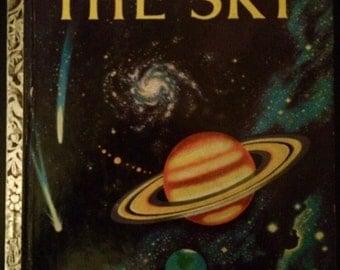 Vintage 1950's Little Golden Book~The Sky 1st Edition!