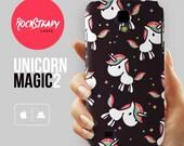 Unicorn Pattern Samsung S7 case, Samsung Galaxy S6 case, unicorn Galaxy S5 case, samsung galaxy s4 case, galaxy s3 case, iPhone 6 case