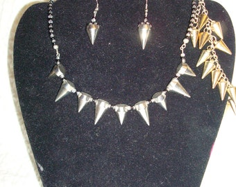 Silver and Spikes