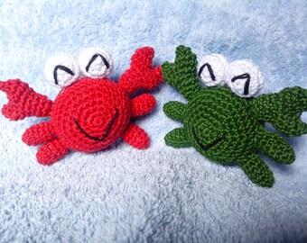 Crochet crab-Cangrejo crochet de crochet-crab-Crabe de Mer