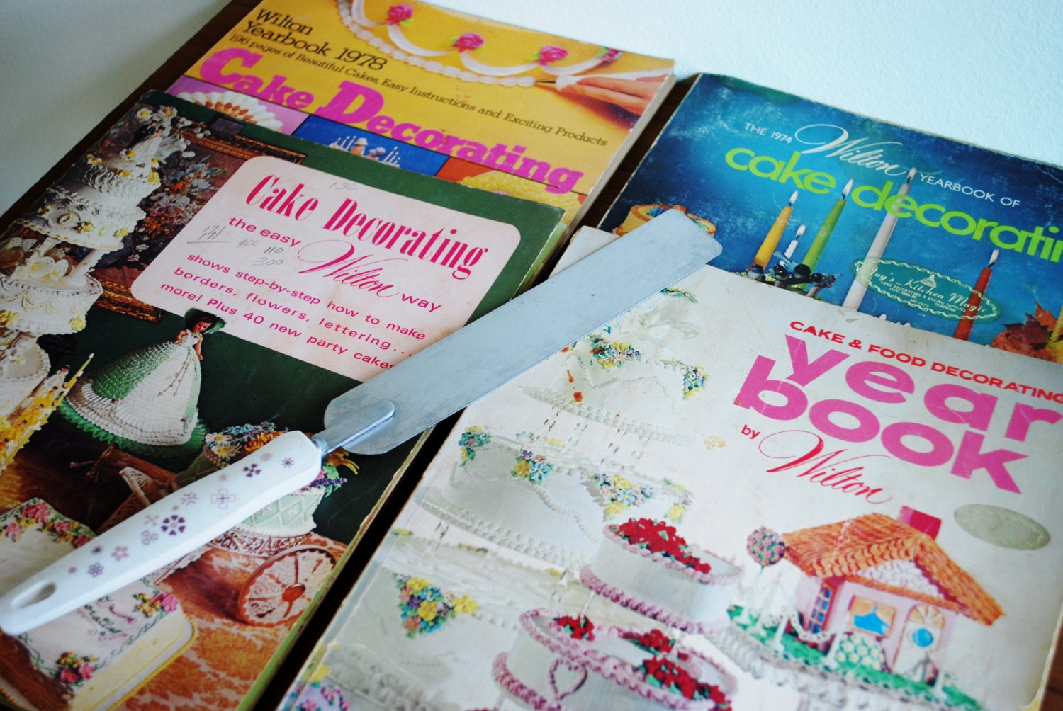 Vintage Wilton Cake Decorating Books  Set Of 4 Vintage