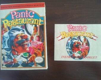 Panic Restaurant Box and manual