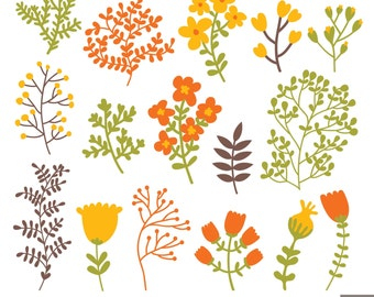 Autumn Foliage Clipart