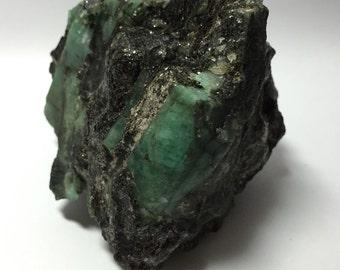 Brazilian Emerald in Matrix