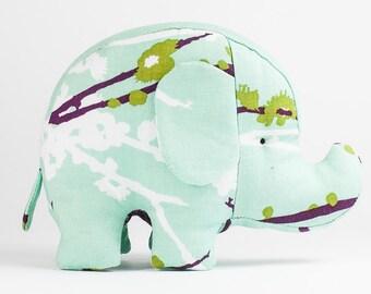 Baby Toy Elephant in Purple, Plush Baby Toy, Stuffed Pincushion, Animal Pincushion, Home decoration