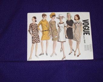 Vogue Basic Dress 1849