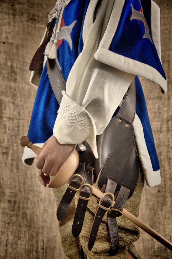 Luxury Musketeer Costume - Jacket, shirt and pants