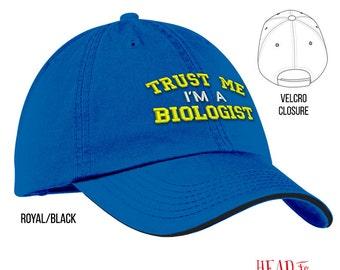 Biologist, Biologist Hat, Biologist Gift, Gift For Biologist, Student Biologist, Biologist Graduation, Graduation Gift
