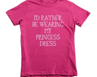 Princess Dress kids t-shirt