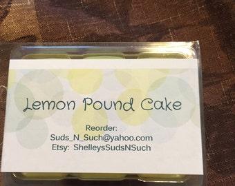 Lemon Pound Cake Wax Melts
