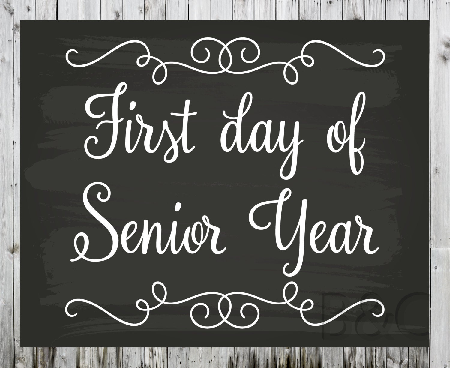 first and last day of school printable sign first and last 128270zoom