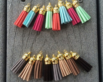Adorable Little Suade Tassels!