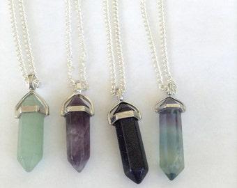 Gemstone Necklaces; Stargazers