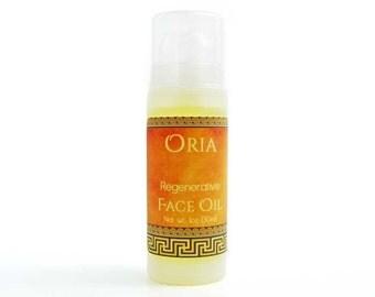 Natural Face Oil by Oria, 1oz, face oil, face serum, face moisturizer, facial oil, moisturizing serum, moisturizing oil, natural skincare