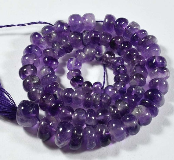 Basket Weaving Supplies Connecticut : Aaa quality ct natural purple amethyst beads size