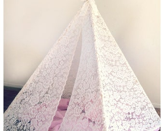 FULL SHEER Lace Tee Pee