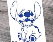Stitch, Lilo and Stitch Decal Sticker