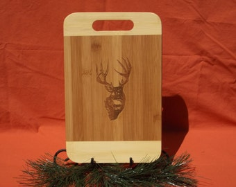 cutting board deer