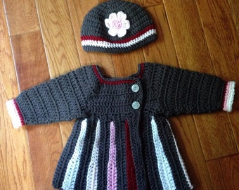 Sweater and hat set