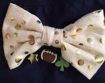Little Girl's Notre Dame pillowcase dress and headband