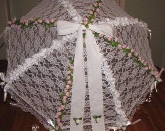 Bridal Shower Lace Umbrella