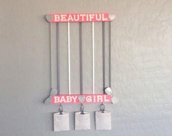 Hair Accessory Organizer, Bow Holder - Beautiful Baby Girl