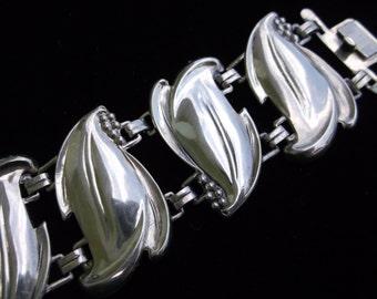 Beautiful Sterling Silver Earring and Bracelet Set