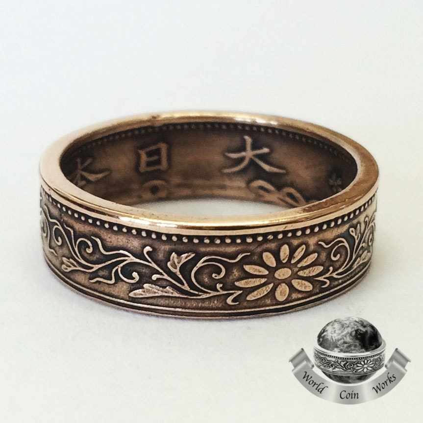 Japanese Coin Ring Bronze 1 Sen Coin. Clean Engagement Rings. Carat Tw Rings. Edwardian Style Engagement Rings. Tolbert Wedding Rings. Commitment Wedding Rings. Mejuri Engagement Rings. Micro Pave Engagement Rings. Teak Engagement Rings