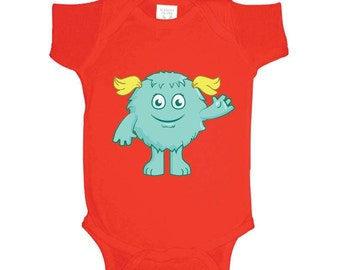 Girl Monster Onesie