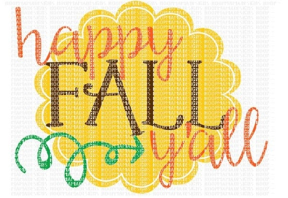 Download Happy Fall Y'all Country Thanksgiving SVG DXF eps by ...