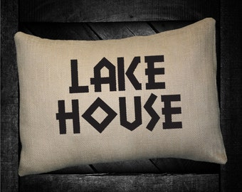 "Lake House  12""x16"" Pillow Set"