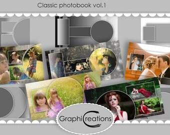 Classic photobook vol.1/psd files/templates