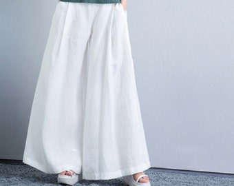 linen pants women – Etsy