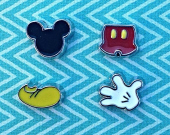 Mickey floating charms