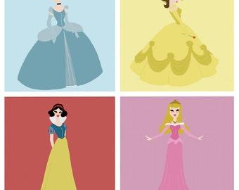 Disney Princess Print (3 variations)
