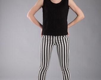 Linen Tank top  / Linen Blouse  /   Washed Linen Top  / Flax Sleeveless Shirt