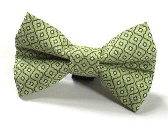 Dapper Dog in Green Dog Bow Tie