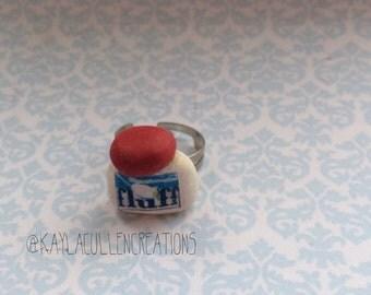 Fluff ring