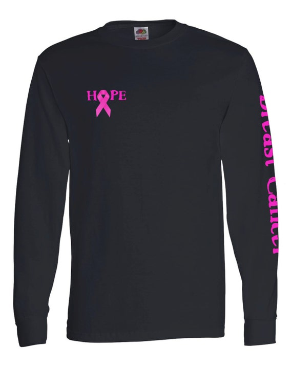 breast cancer shirt long sleeve breast cancer by