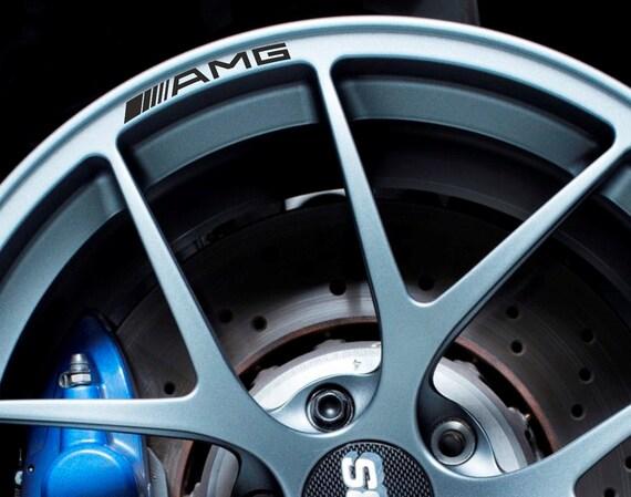 Mercedes Benz Amg Rims Alloy Wheel Decals Stickers Class A B C