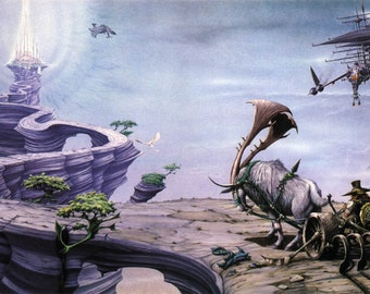 Foundation (Magnum) full colour original painting by Rodney Matthews
