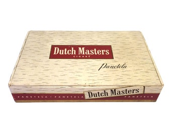 Vintage Dutch Masters Cigar Box