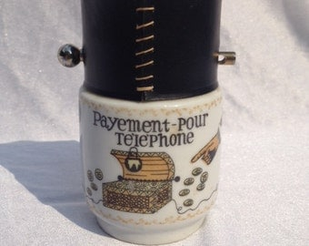 French Telephone Money Box Piggy Bank Money Bank Money Safe