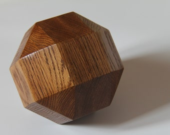 Form geomotrique wooden - Geometrical wooden sphere