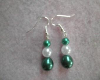 Earrings 034 Snowy Pine