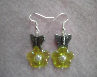 Earrings 048 Butterfly Dance